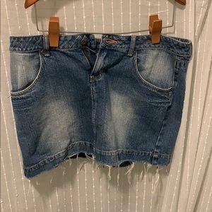 Guess Vintage jean skirt